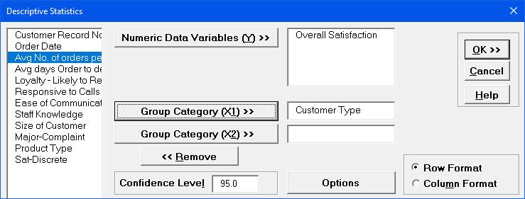 SigmaXL | Product Features | Descriptive Statistics in Excel Using ...