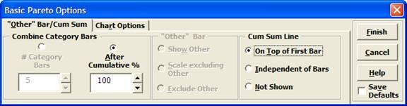 Basic Pareto Options