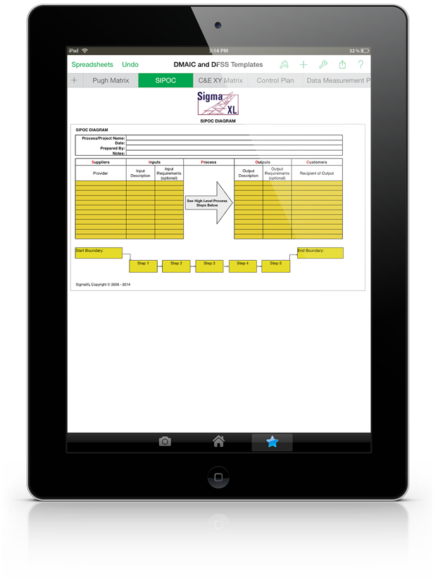 Sigmaxl Numbers Templates For Ipad Statistical And